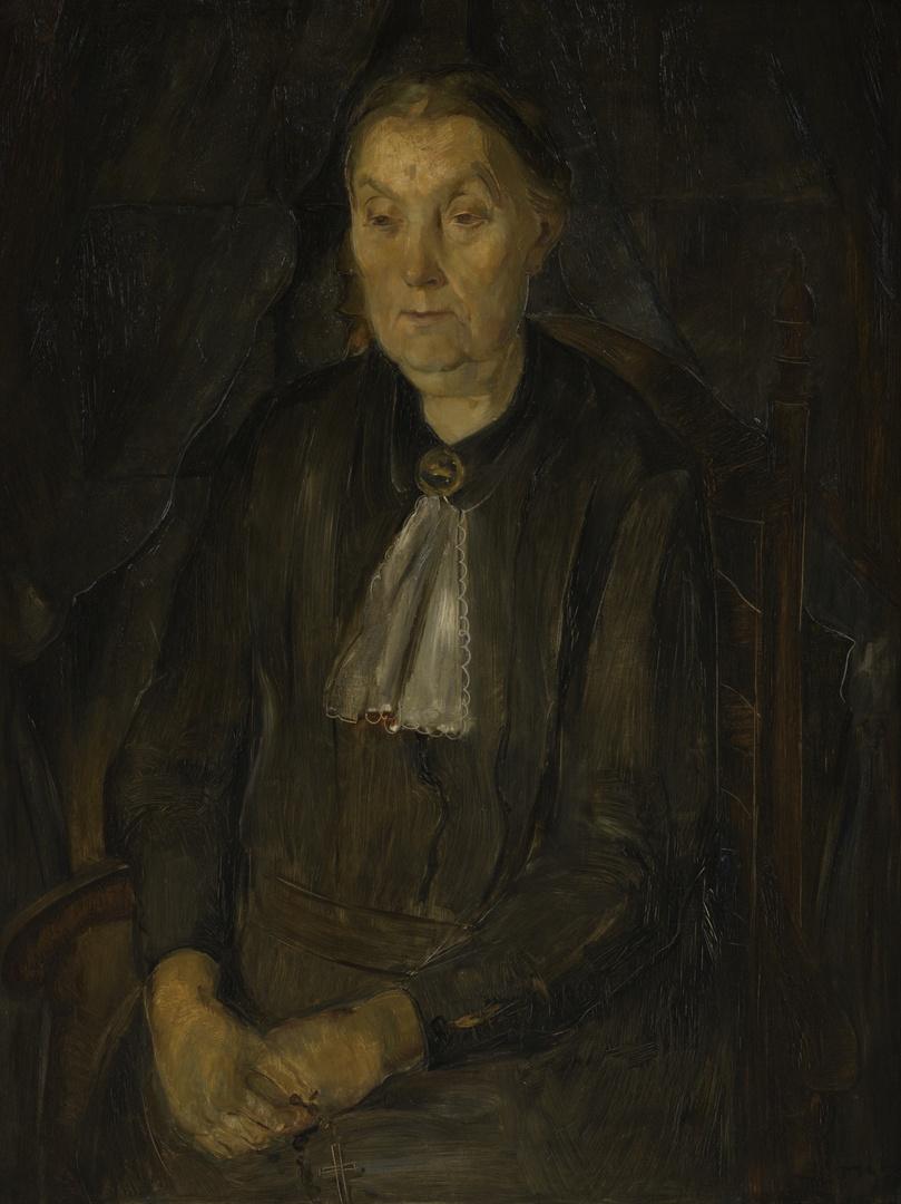 Portret van de moeder van Henri Jonas