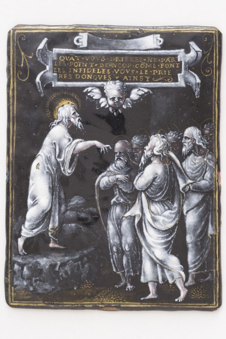 Jesus spreekt tot de apostelen