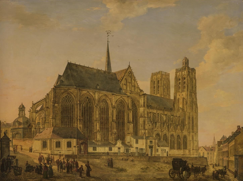 Kerk van Sint-Goedele in Brussel