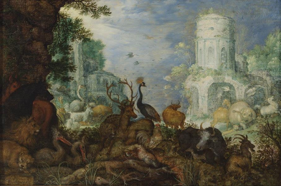 Orpheus raided by Maenads