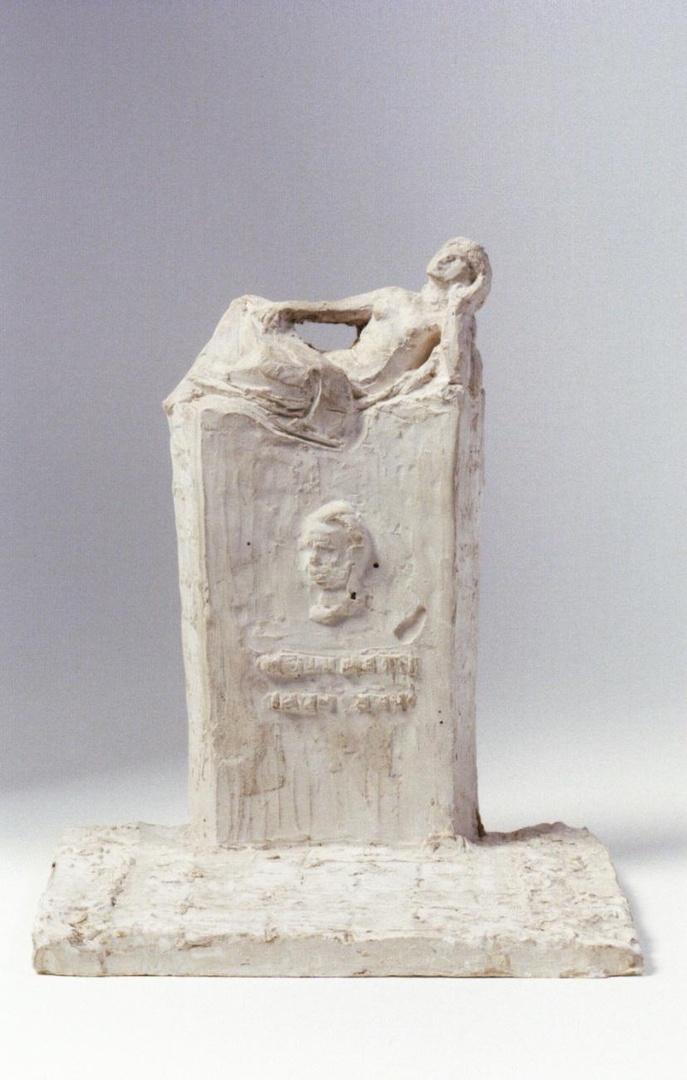 Ontwerp voor het gedenkteken voor Henri Hermans aan de St.Hubertuslaan te Maastricht