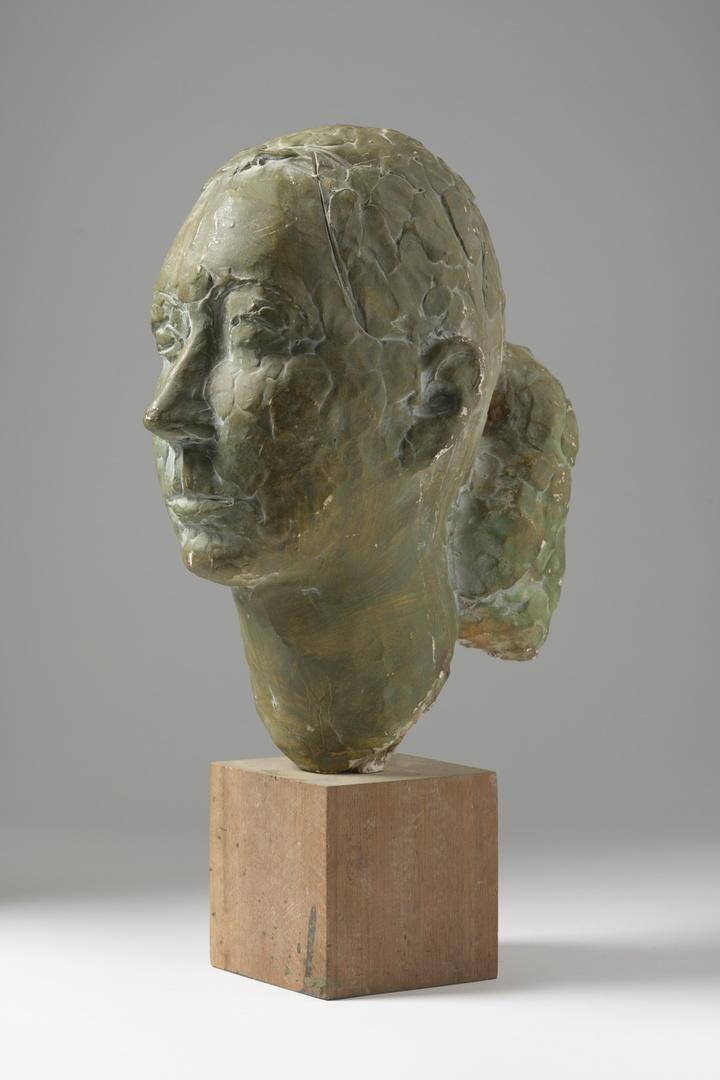 Portretkop Mevr. G. Boosten-Stassen