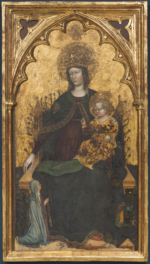 Madonna Enthroned with child
