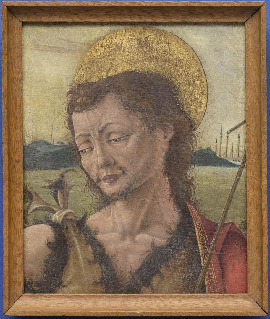 Head of John the Baptist