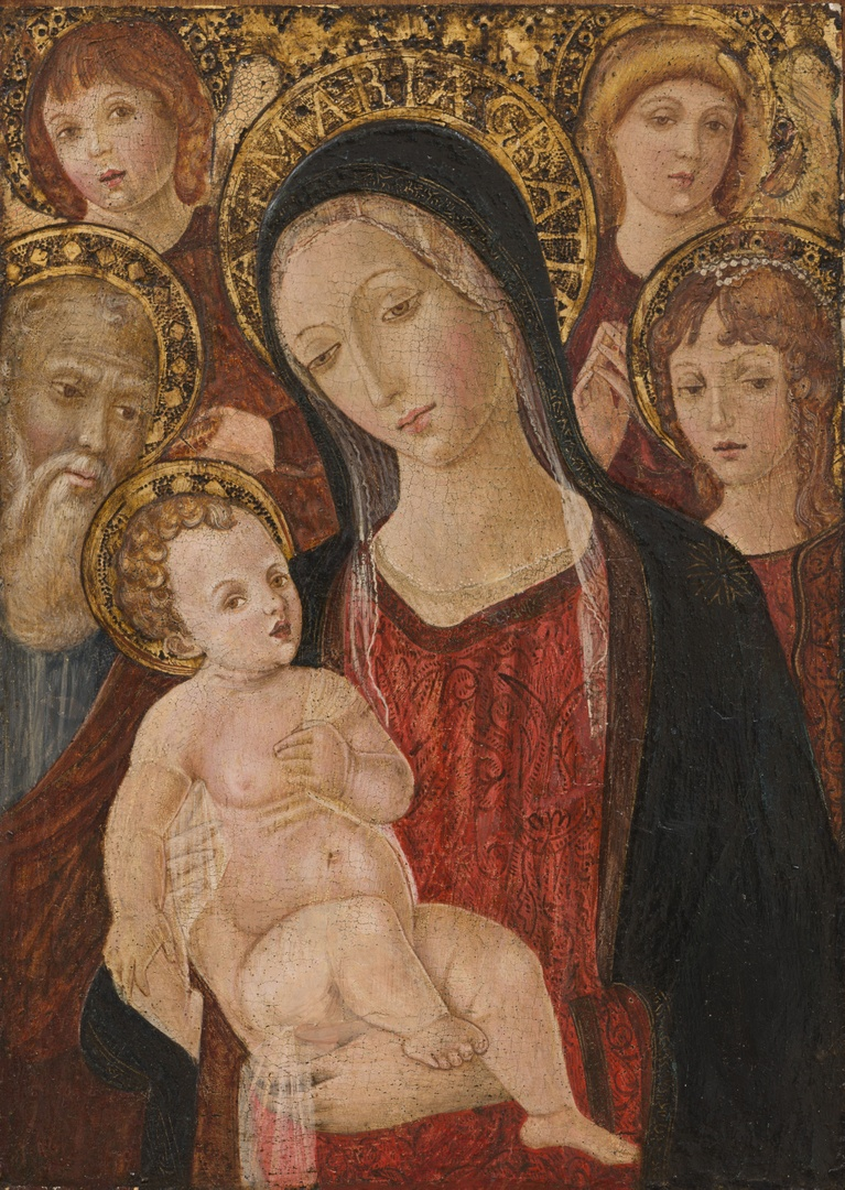 Madonna with Saints and Angels