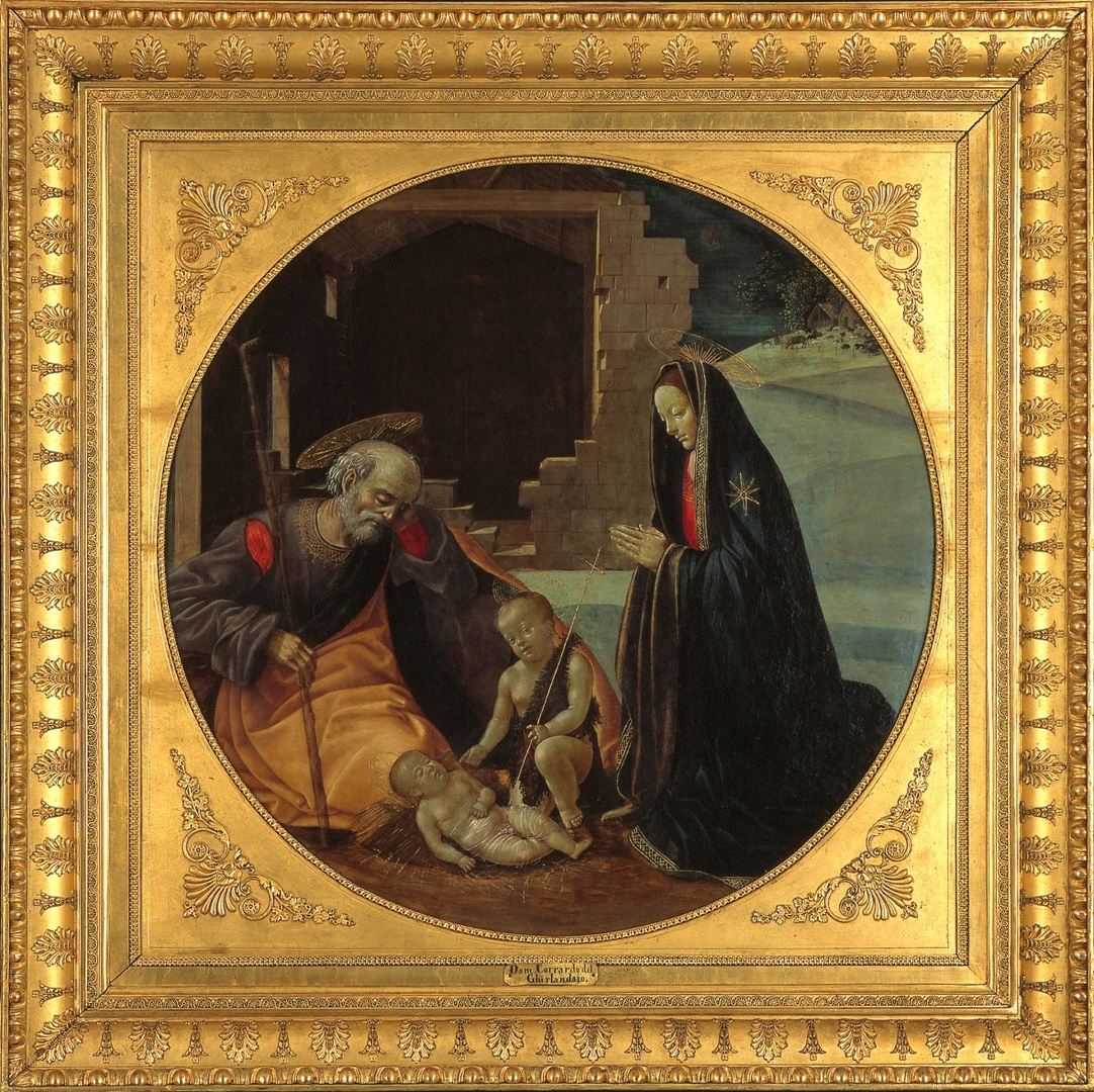 The Adoration with the Infant and John the Baptist