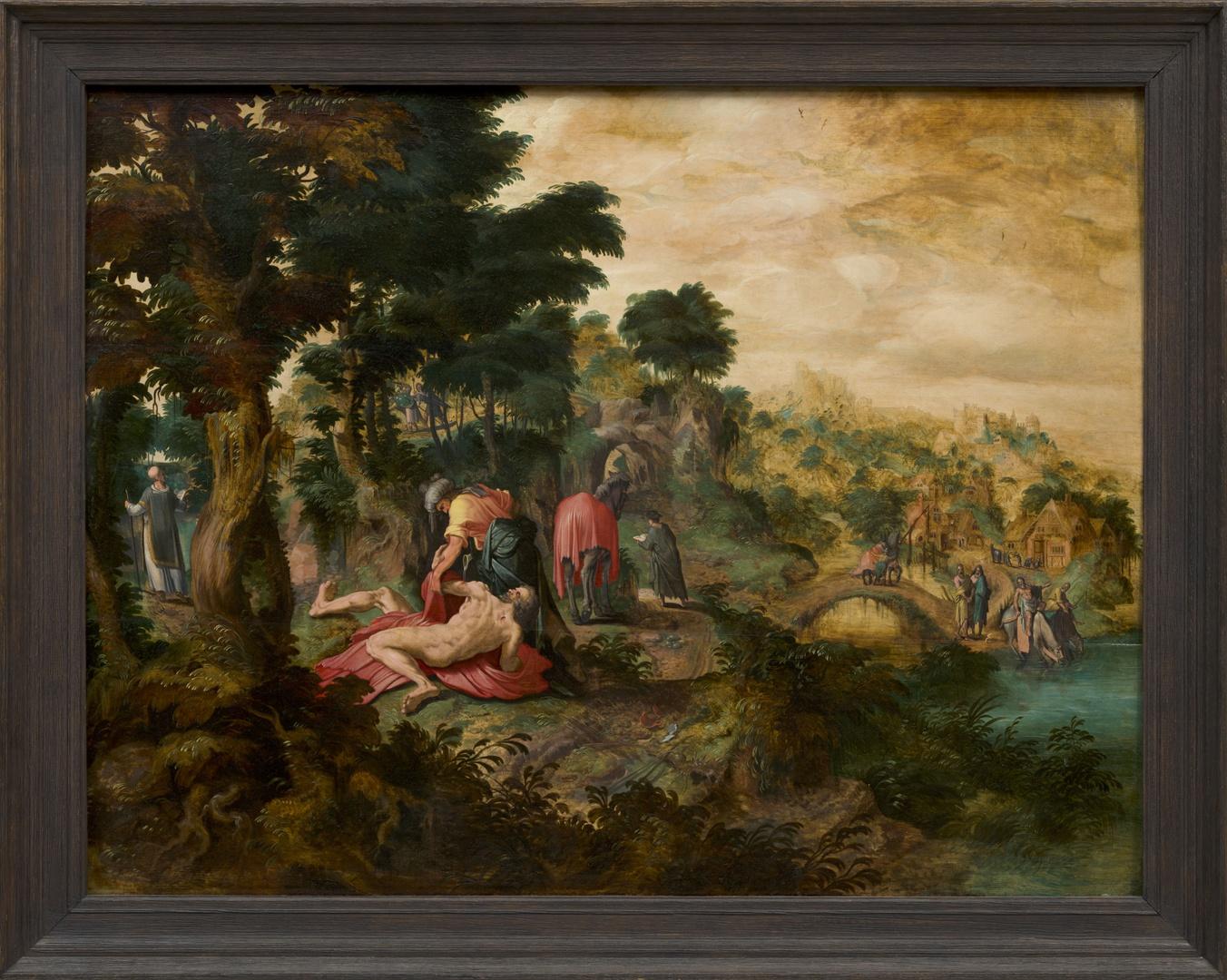The parabel of the Good Samaritan