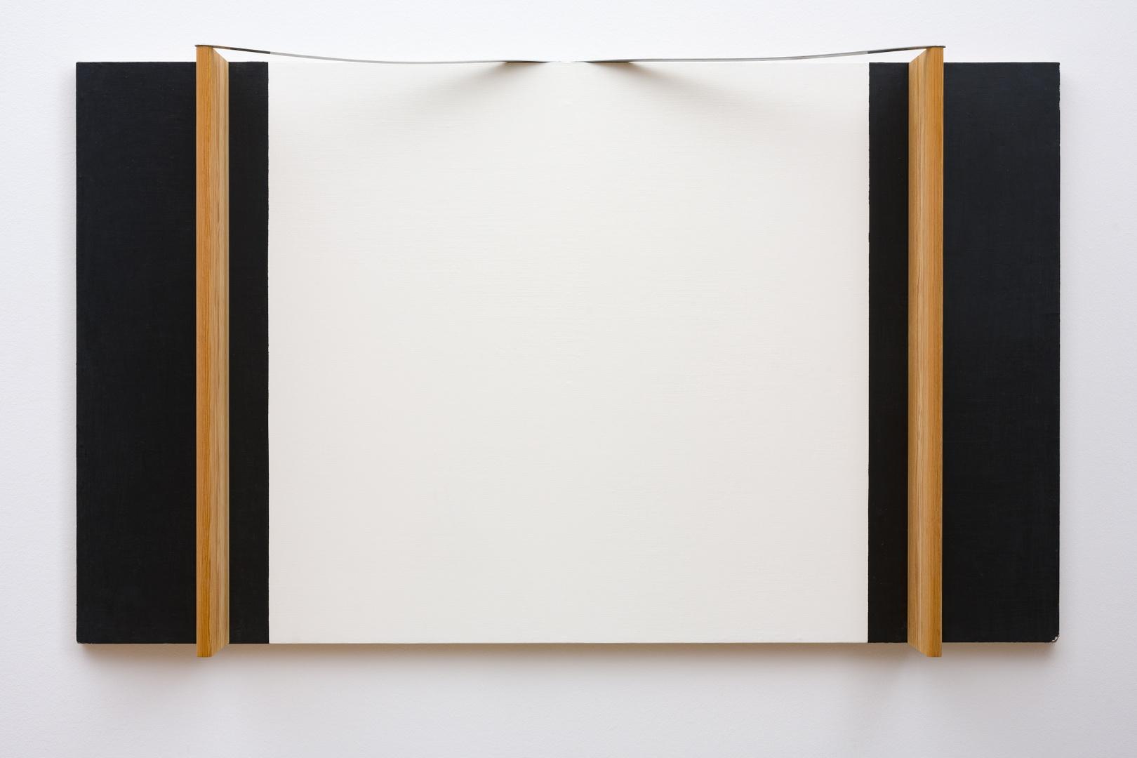 Schilderij met houten planken