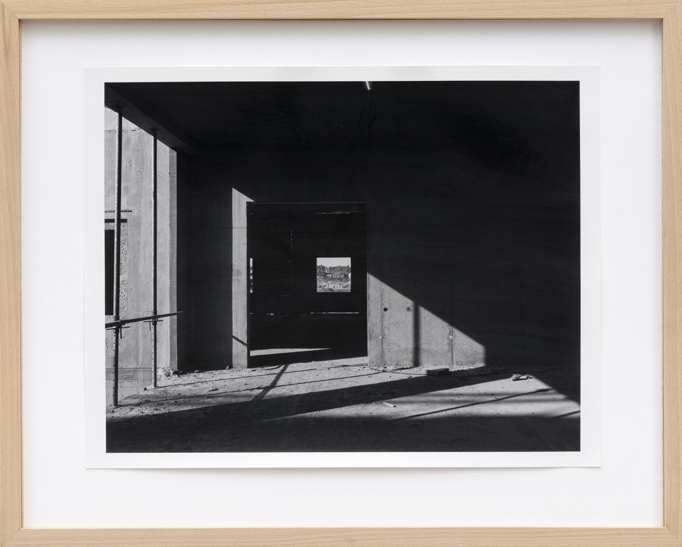 Bouw Bonnefantenmuseum 1992-1994 ; Binnentuin zuid