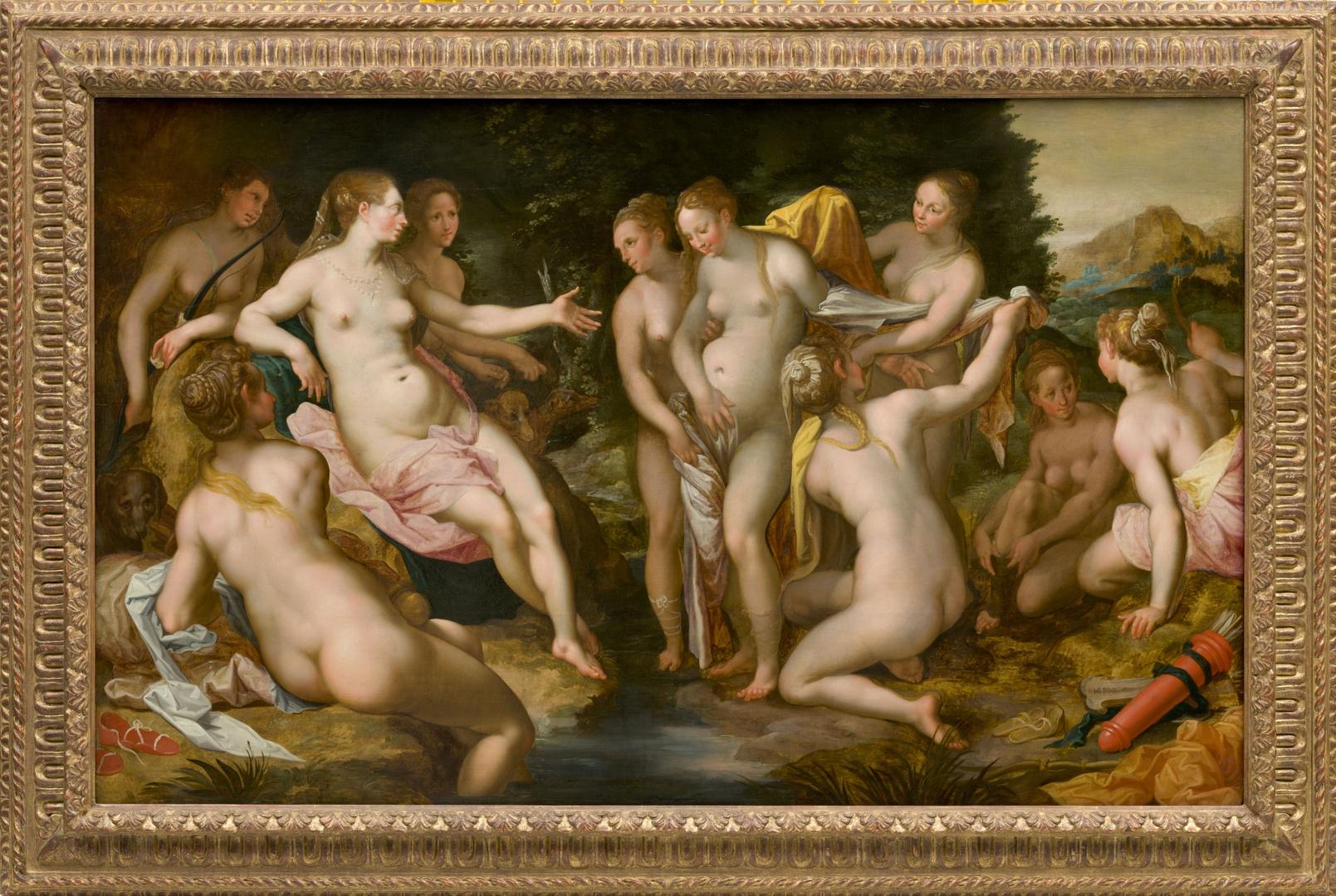 Diana discovers the Pregnancy of Callisto