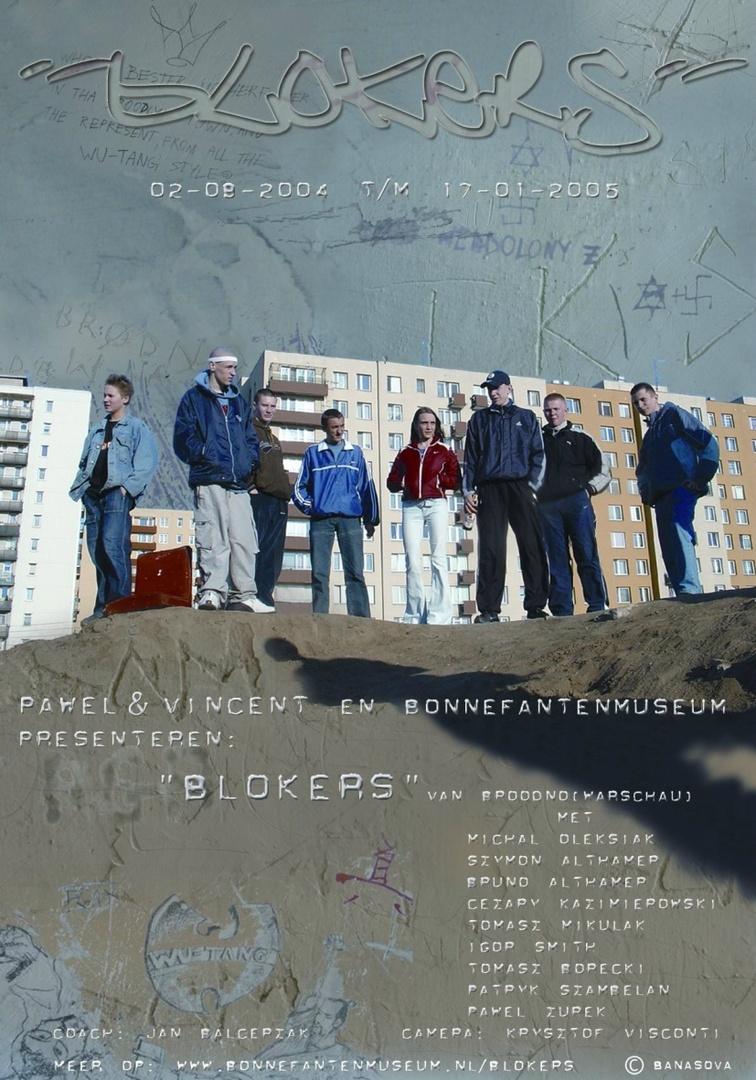 Brodno, Blokers, Bonnefanten (camera: Krysztof Visconti, muziek: Tworzywo Sztuczne, editing: Visconti & Berto Aussems, Jan van Eyck Academie)