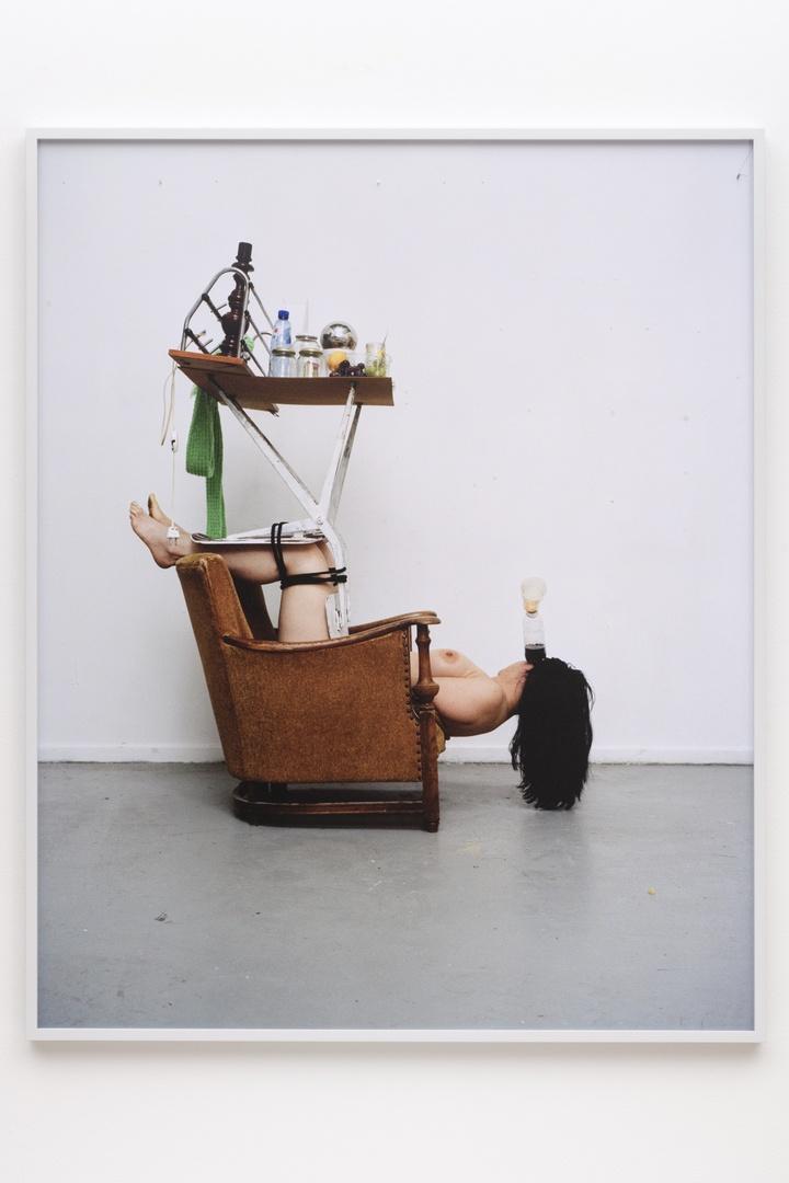Furniture Bondage: Katja