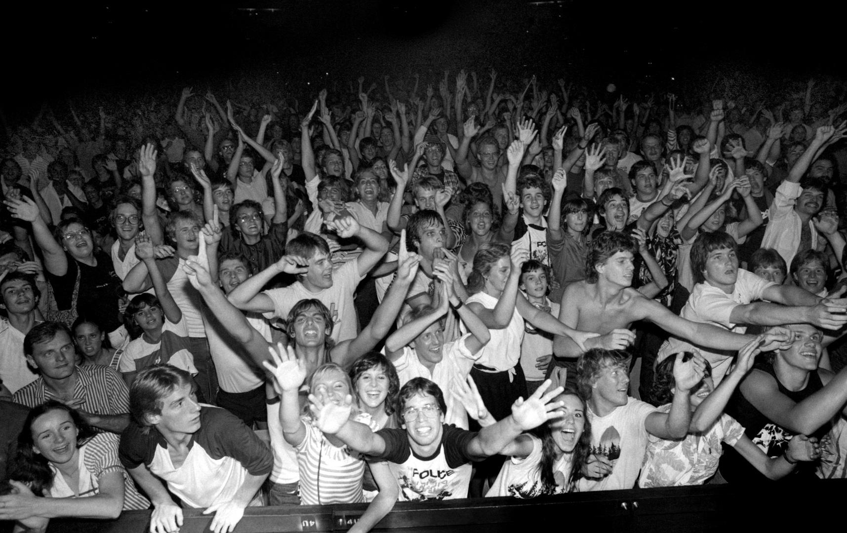Salt Lake City (Utah), August 1982, Andy Summers
