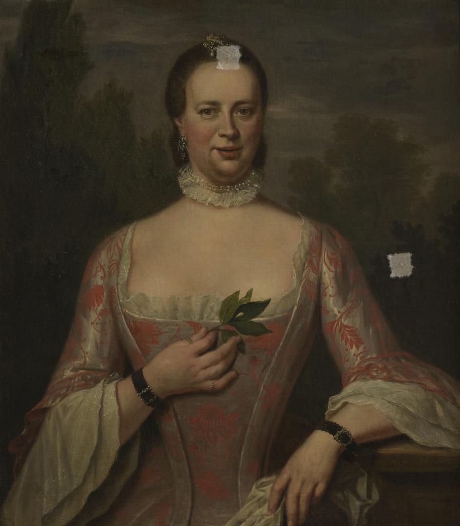 Portret van Carolina van Nassau
