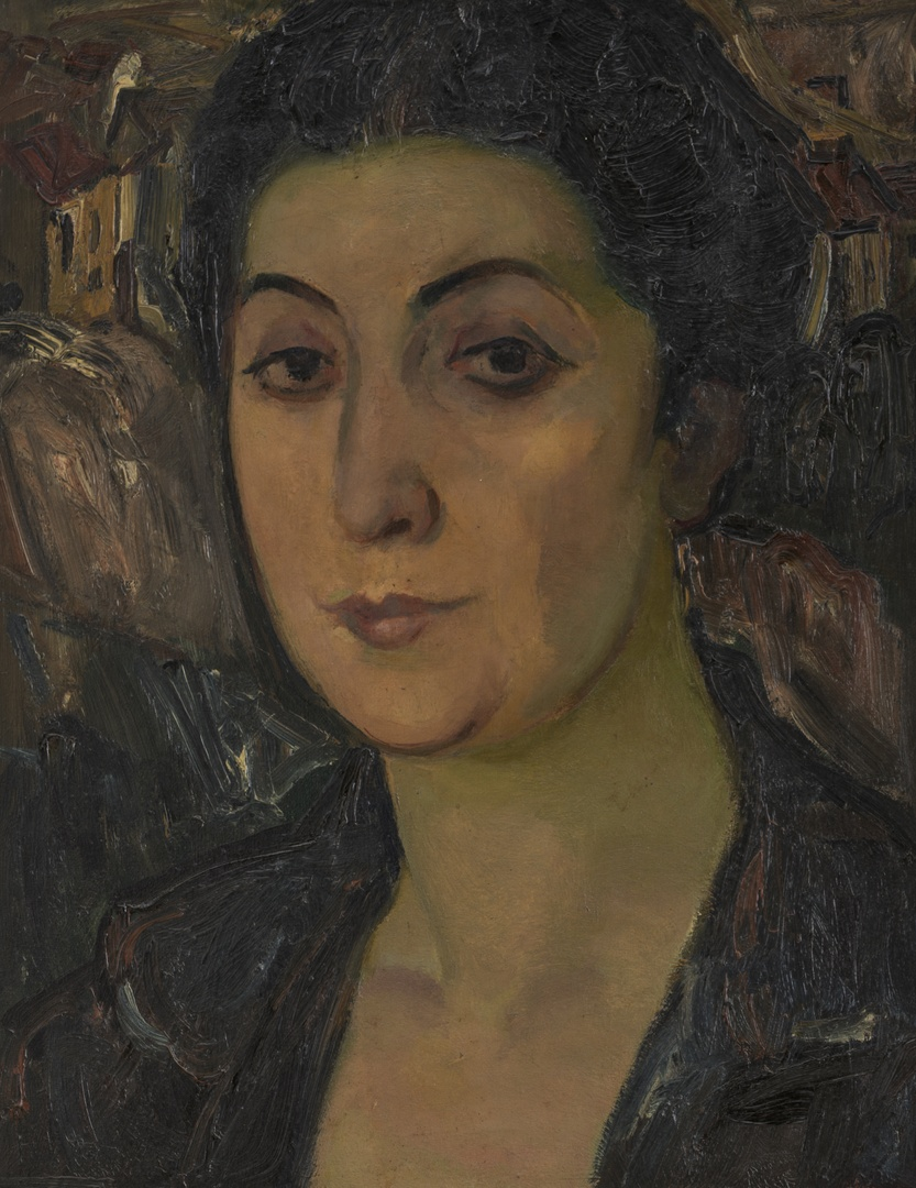 Portret van Mevr. Jonas-Servais
