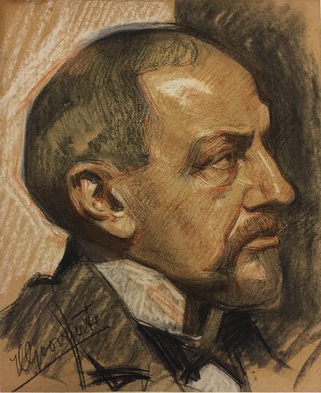 Portret van Albert J.H. Bauduin (1850-1924), fabrikant te Maastricht