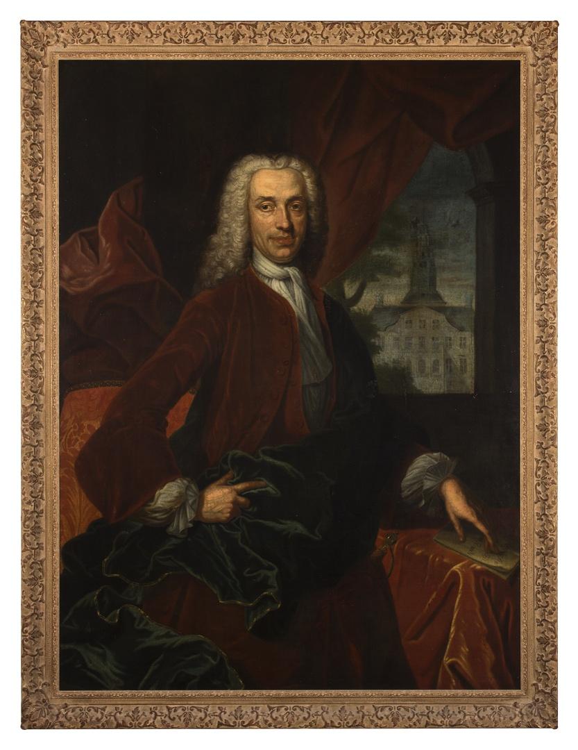 Portret van Jacobus Henricus Guilielmus van Brienen 1701-1750, schepen, burgemeester, gezworen raad van Maastricht 1730-1744