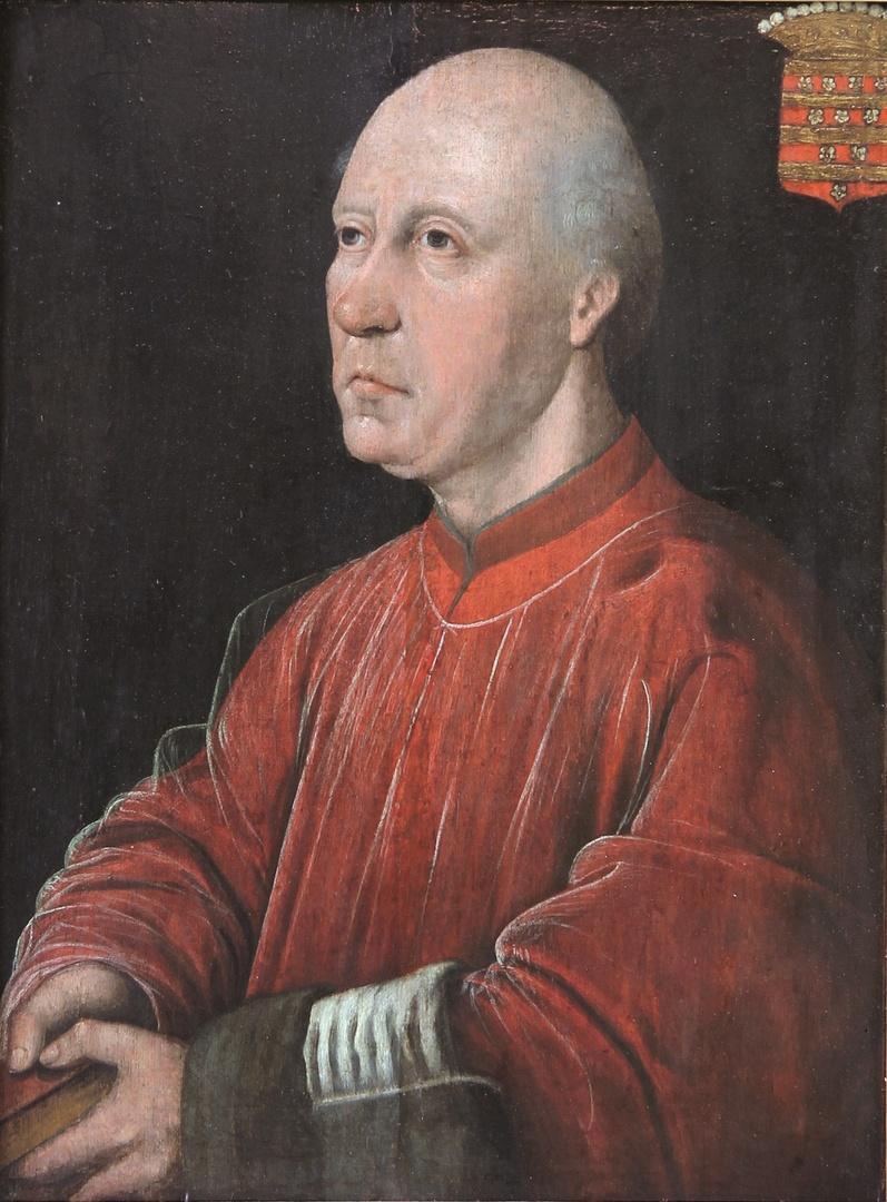 Portret van Evert Zoudenbalch, proost van de St.Servaaskerk