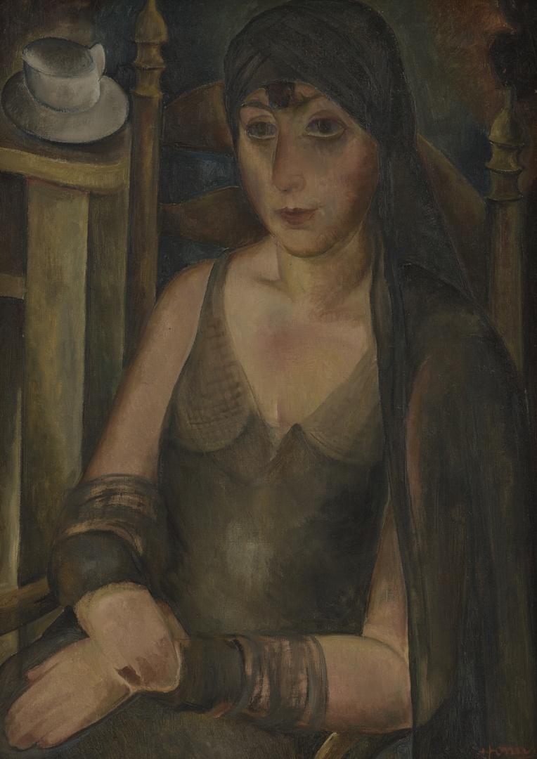 Portret van Mevr. E. Jonas-Servais