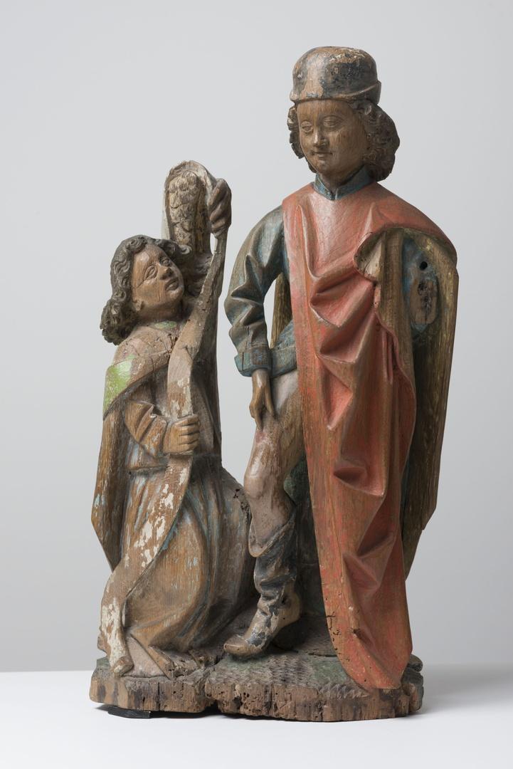 H. Rochus met engel