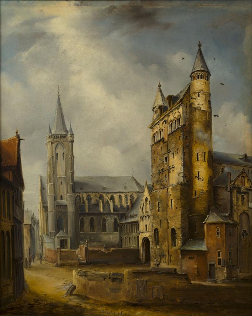 O.L.Vrouwekerk en Sint-Nicolaaskerk te Maastricht