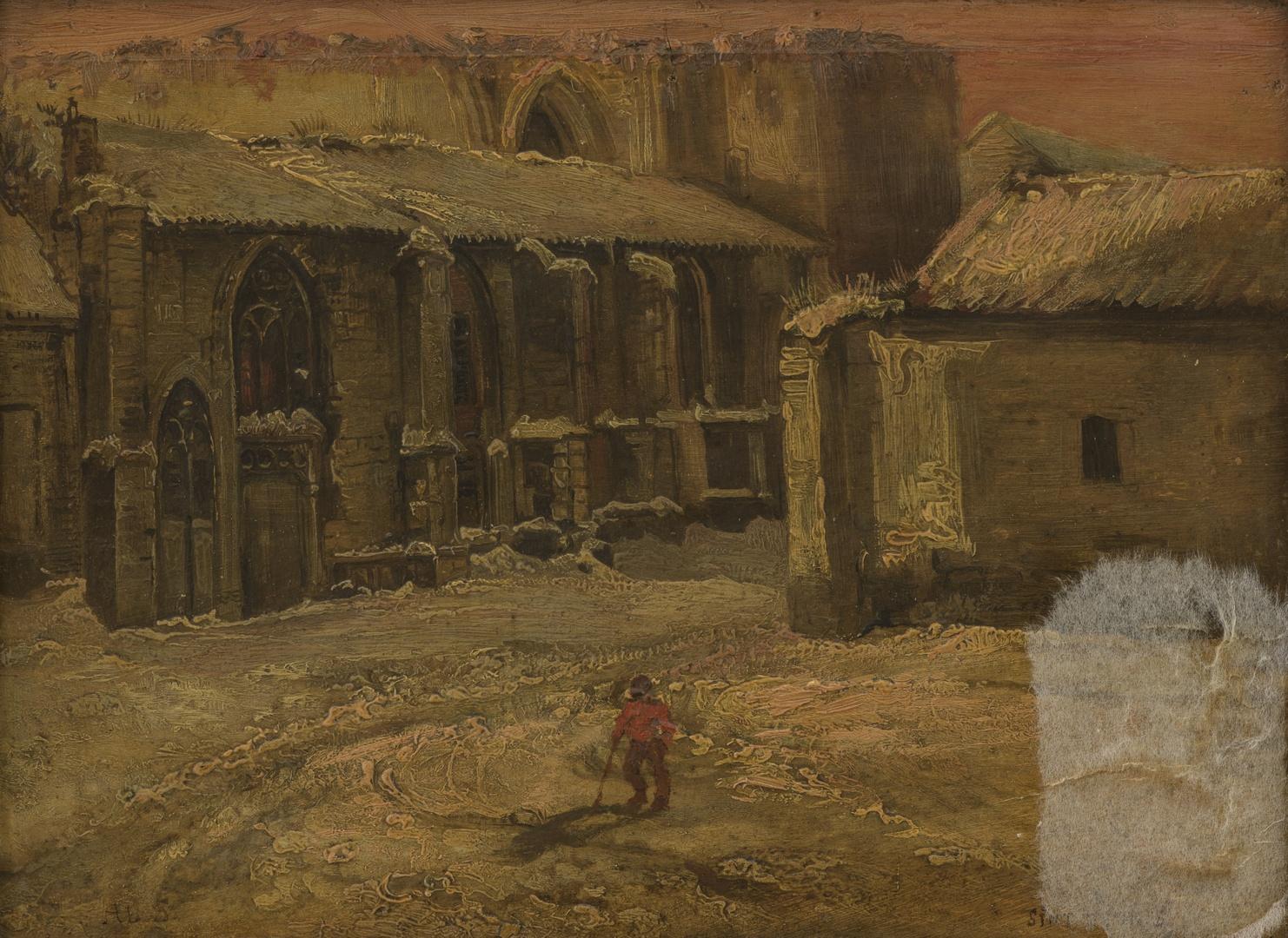 Ruïne van de kerk van het St.Antoniusklooster te Maastricht