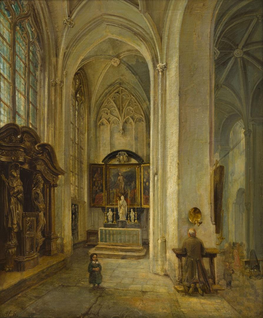 Kapel van Monulphus en Gondulphus Sint-Servaaskerk te Maastricht (noordbeuk)