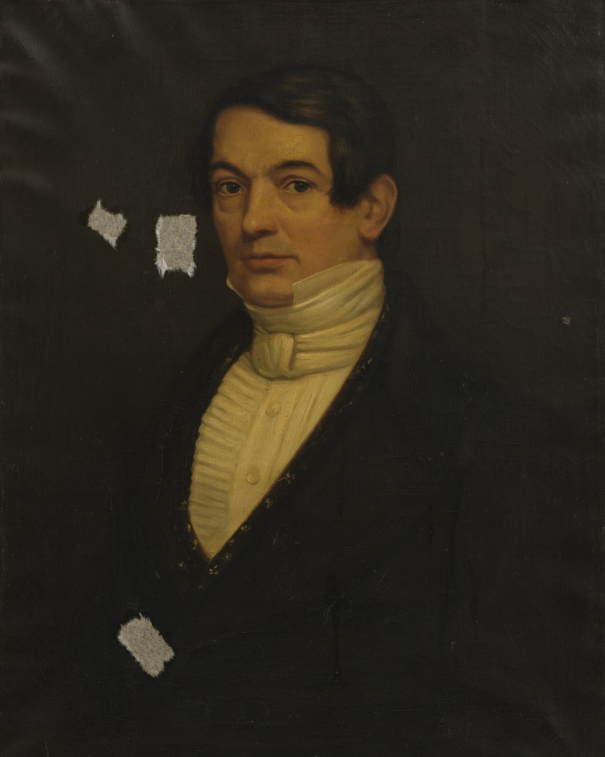 Portret van Theophile F.L.E. Chambille (1787-1857), banketbakker te Maastricht