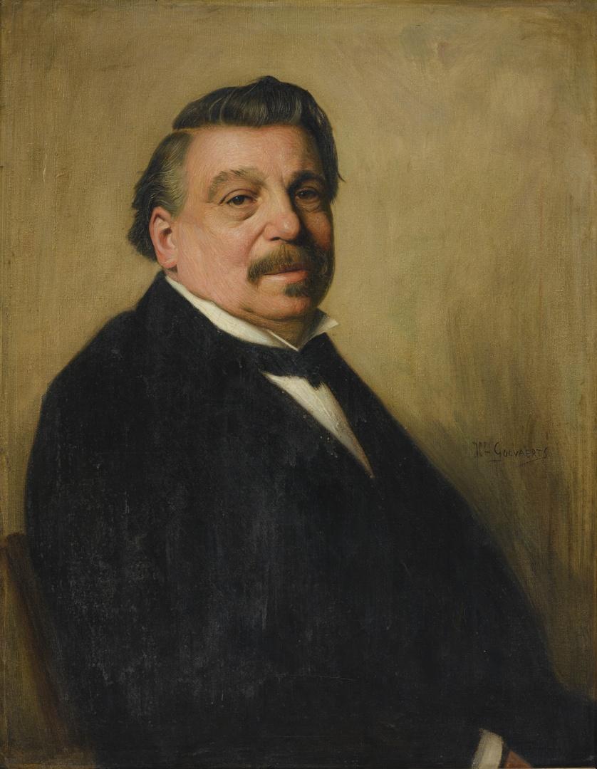 Portret van Michael Jacobus Marres (1826-1898), wethouder te Maastricht 1898-1919