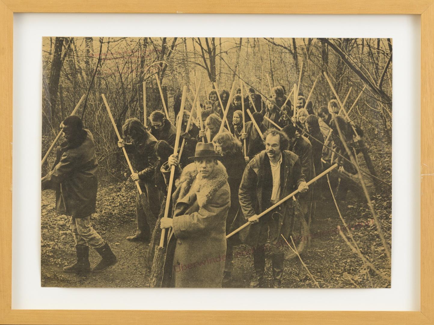 """Affiche: """"Rettet den Wald"""". (Verkleinde versie van multiple)"""