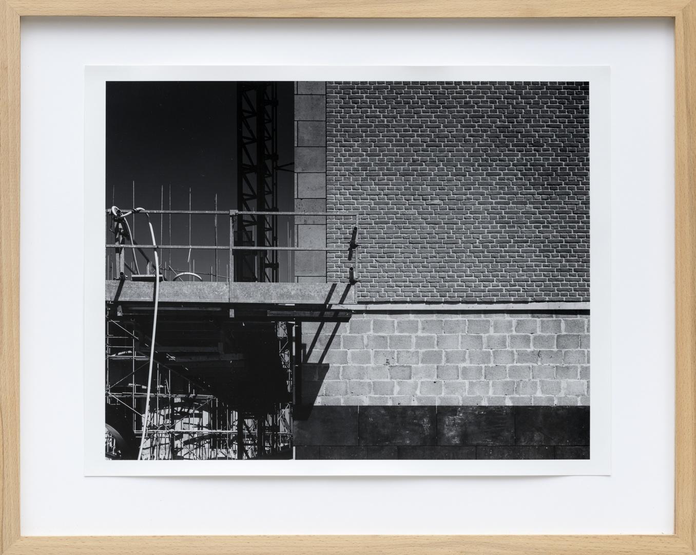 Bouw Bonnefantenmuseum 1992-1994 ; Opbouw geraamte van de koepel