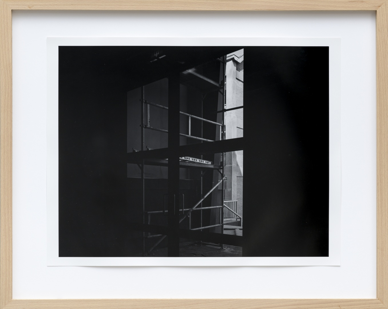 Bouw Bonnefantenmuseum 1992-1994 ; Opbouw basement zuidgevel