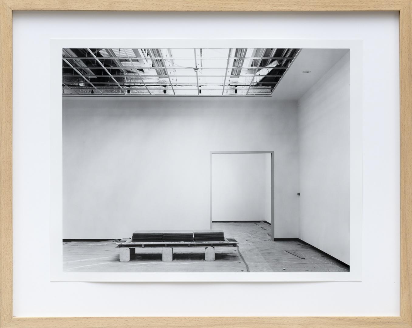 Bouw Bonnefantenmuseum 1992-1994 ; Inrichting kleine zaal derde verdieping