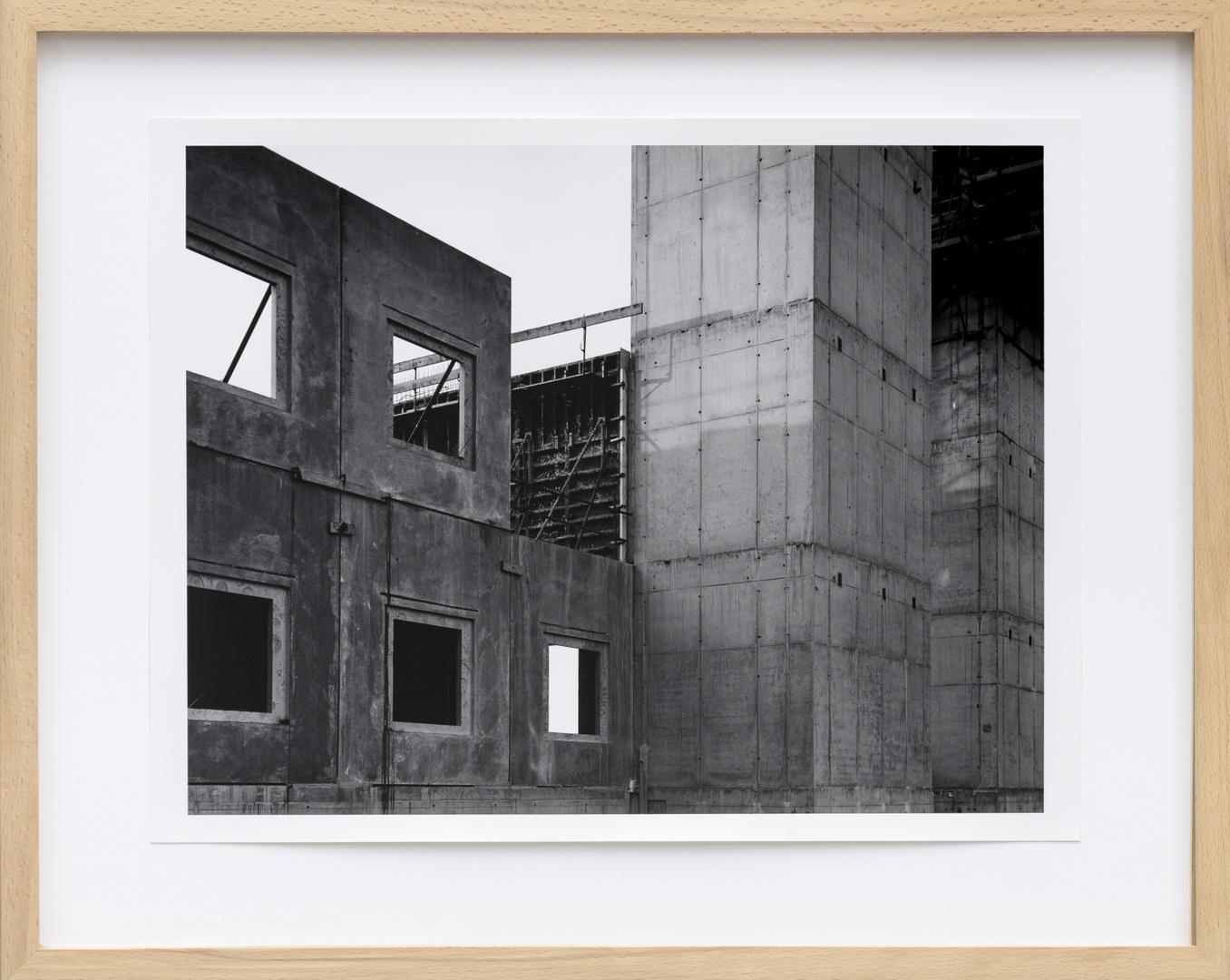 Bouw Bonnefantenmuseum 1992-1994 ; Bekleding kopse kant noordvleugel
