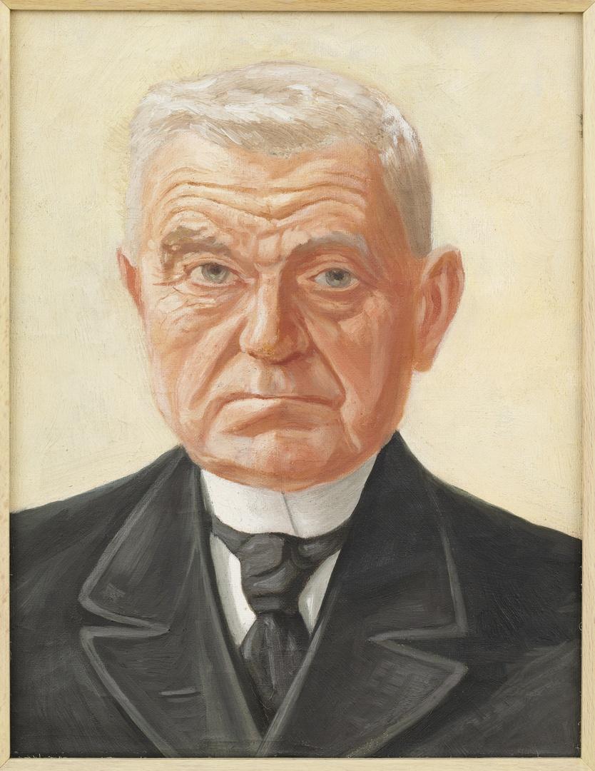 Portret van de heer Mommers, schoonvader van Pierre Kemp