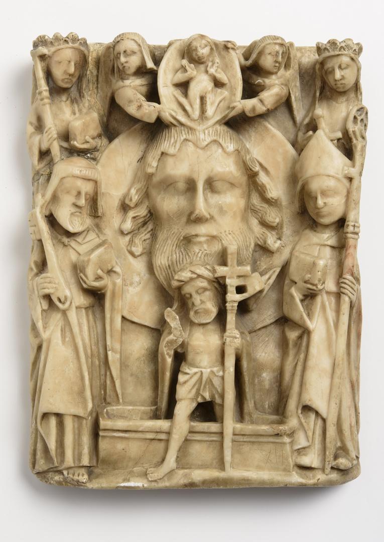 Johannes in Disco omringd door heiligen