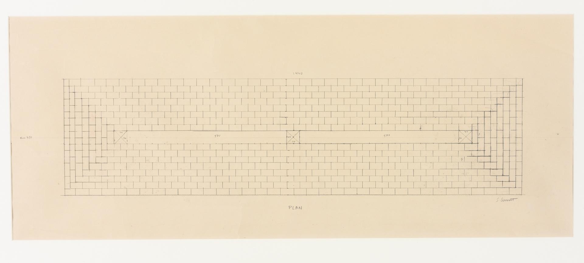 Werktekening voor Long Pyramid