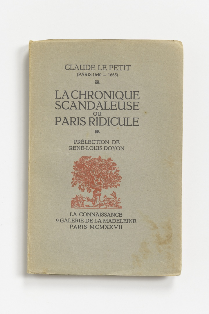 La Chronique Scandaleuse ou Paris Ridicule