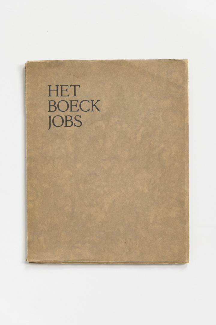 Het Boeck Jobs. Tekst naar de Statenvertaling 1618/19