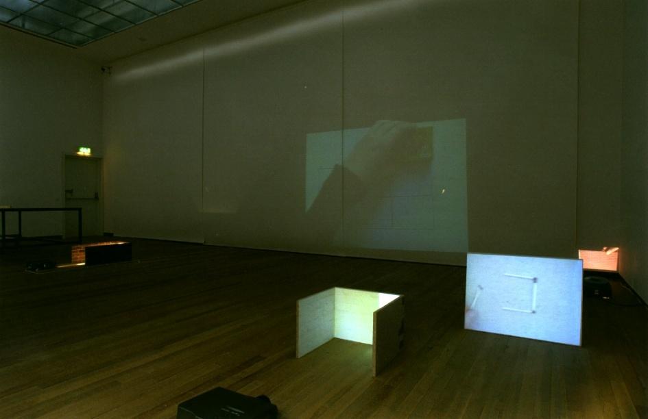 A stretch Museum Scale 1 : 1, een voorstel voor het Bonnefantenmuseum : la salle blanche