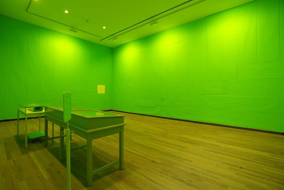 A stretch Museum Scale 1 : 1, een voorstel voor het Bonnefantenmuseum: la salle verte