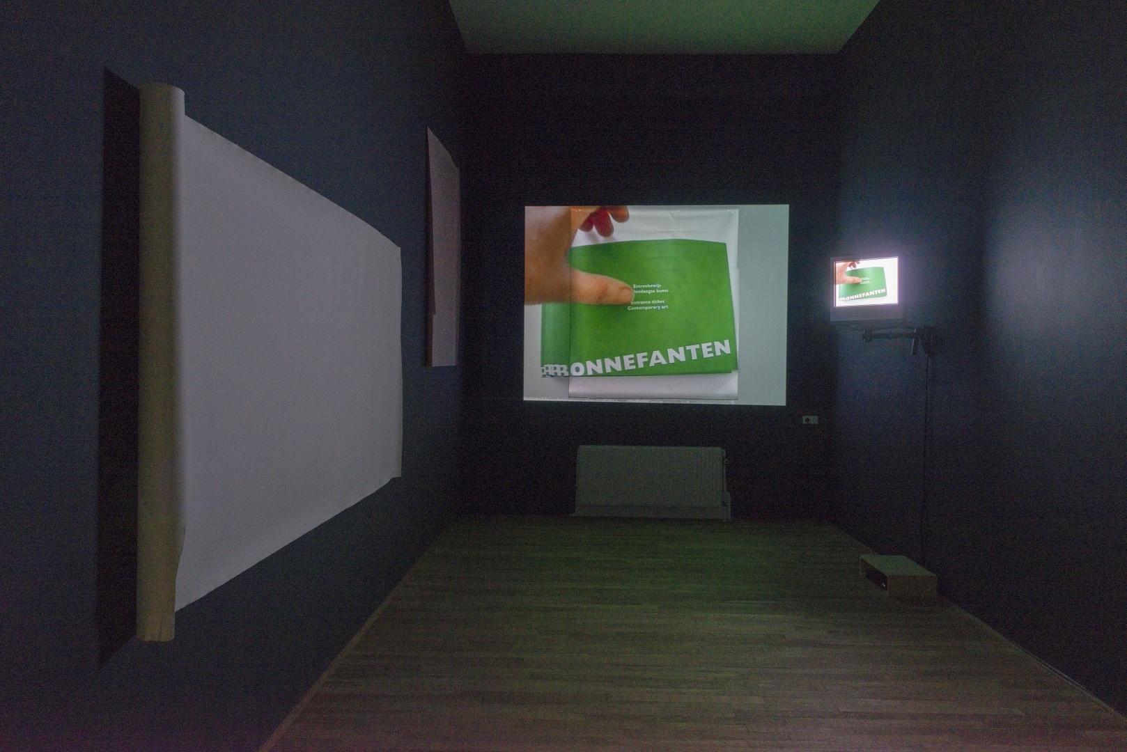 A stretch Museum Scale 1 : 1, een voorstel voor het Bonnefantenmuseum: la salle noire