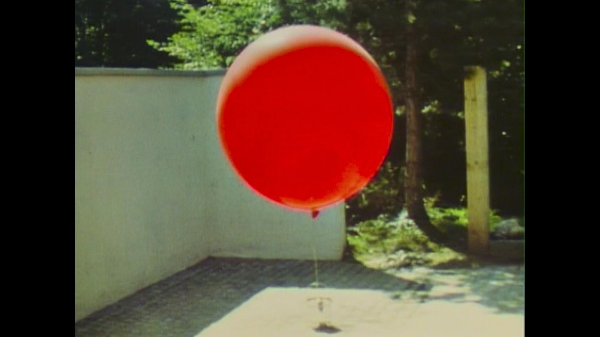 Ballon mit Eimer