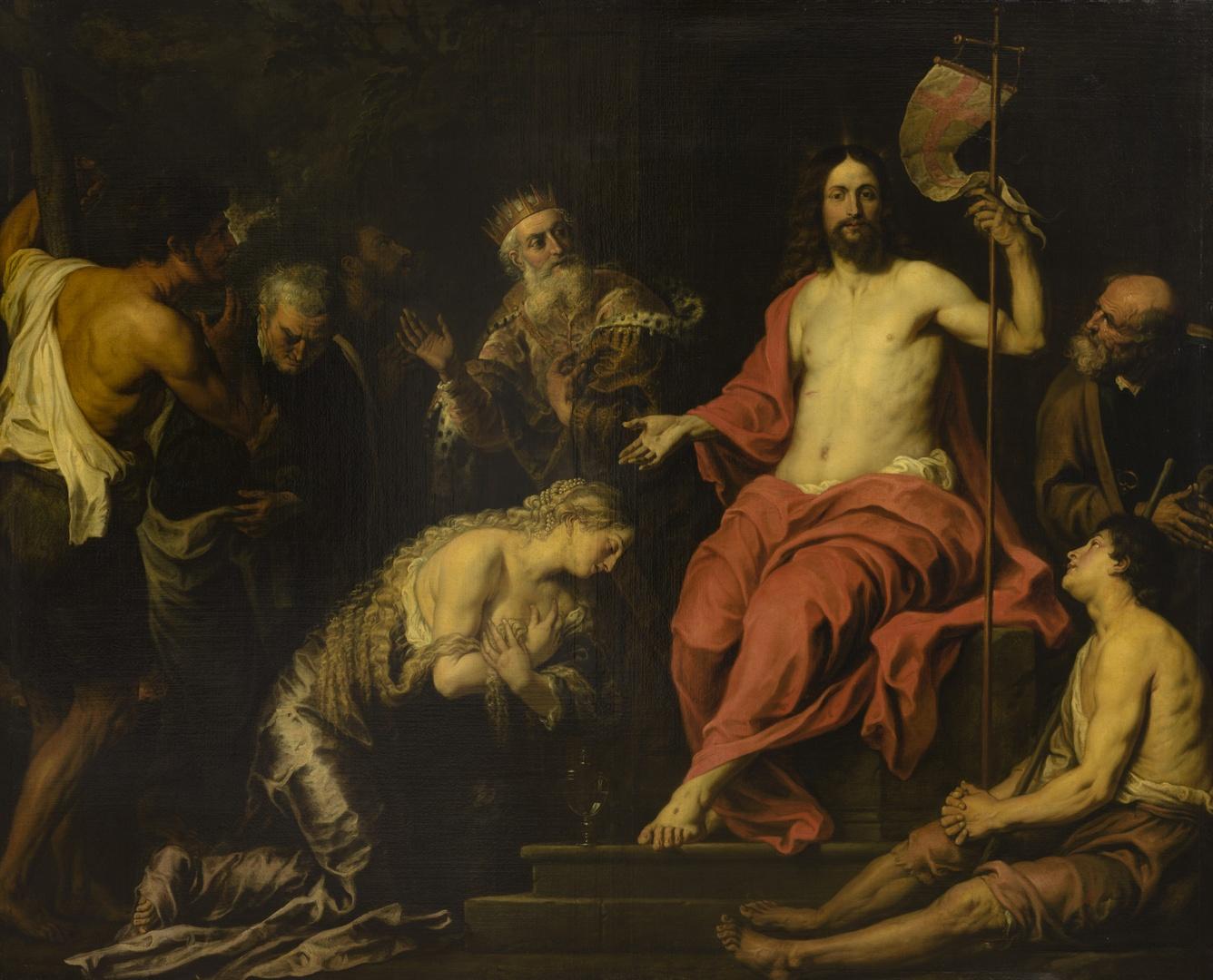 Christus en de boetvaardige zondaars