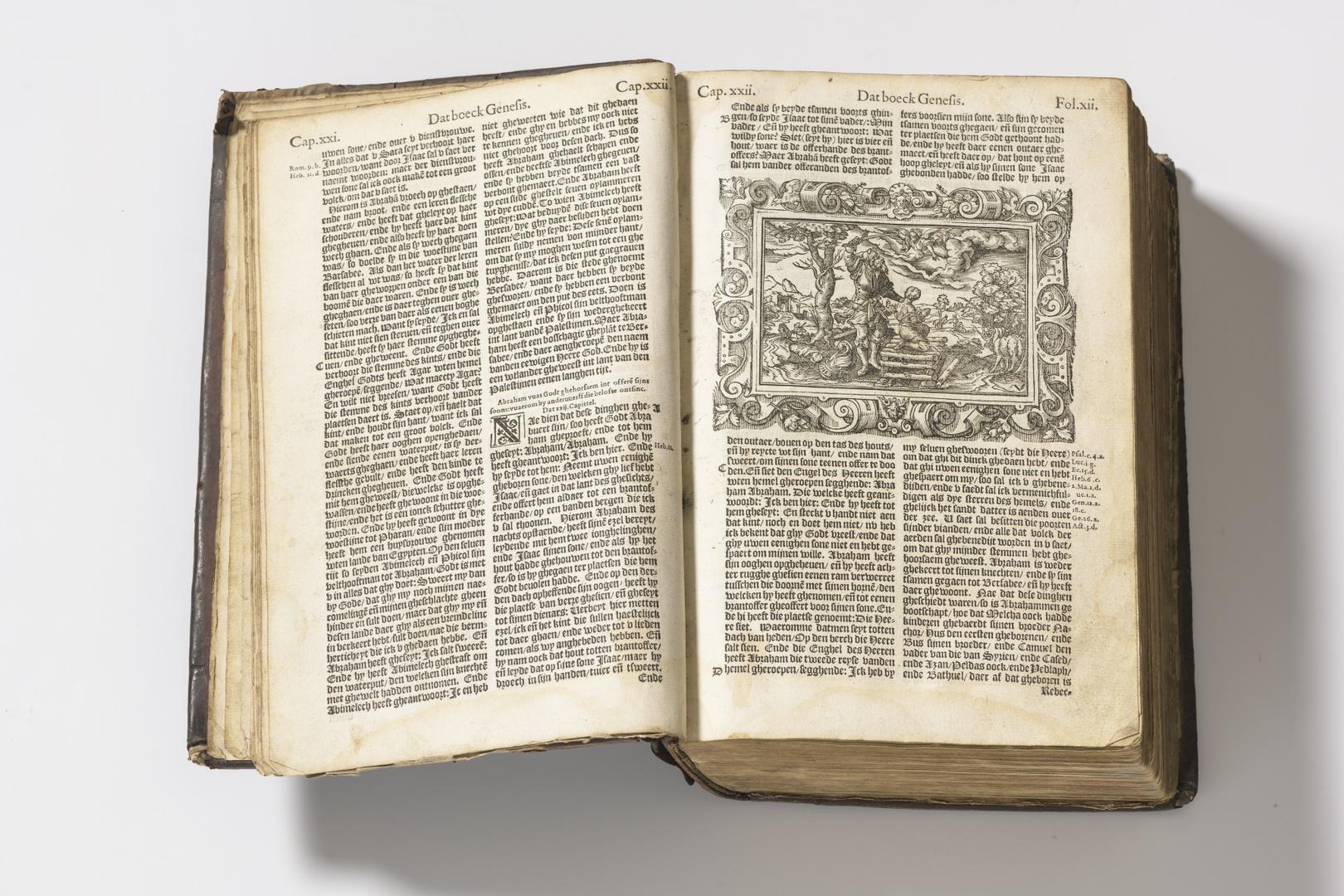 Den Bibel .... Gehprint in die heilige Rijkcksstadt Cuelen door die Erffgenamen van Arnold Birckman MDLXVI