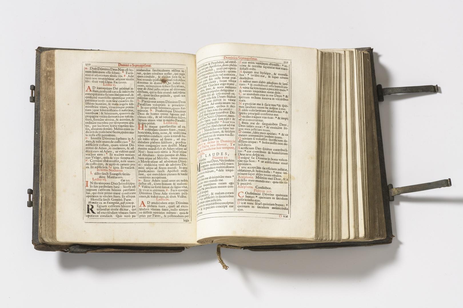 Breviarium Romanum pars Hiemalis Antwerpiae, ex officina  Plantiniana Balthasaris Moretti MDCXCIII