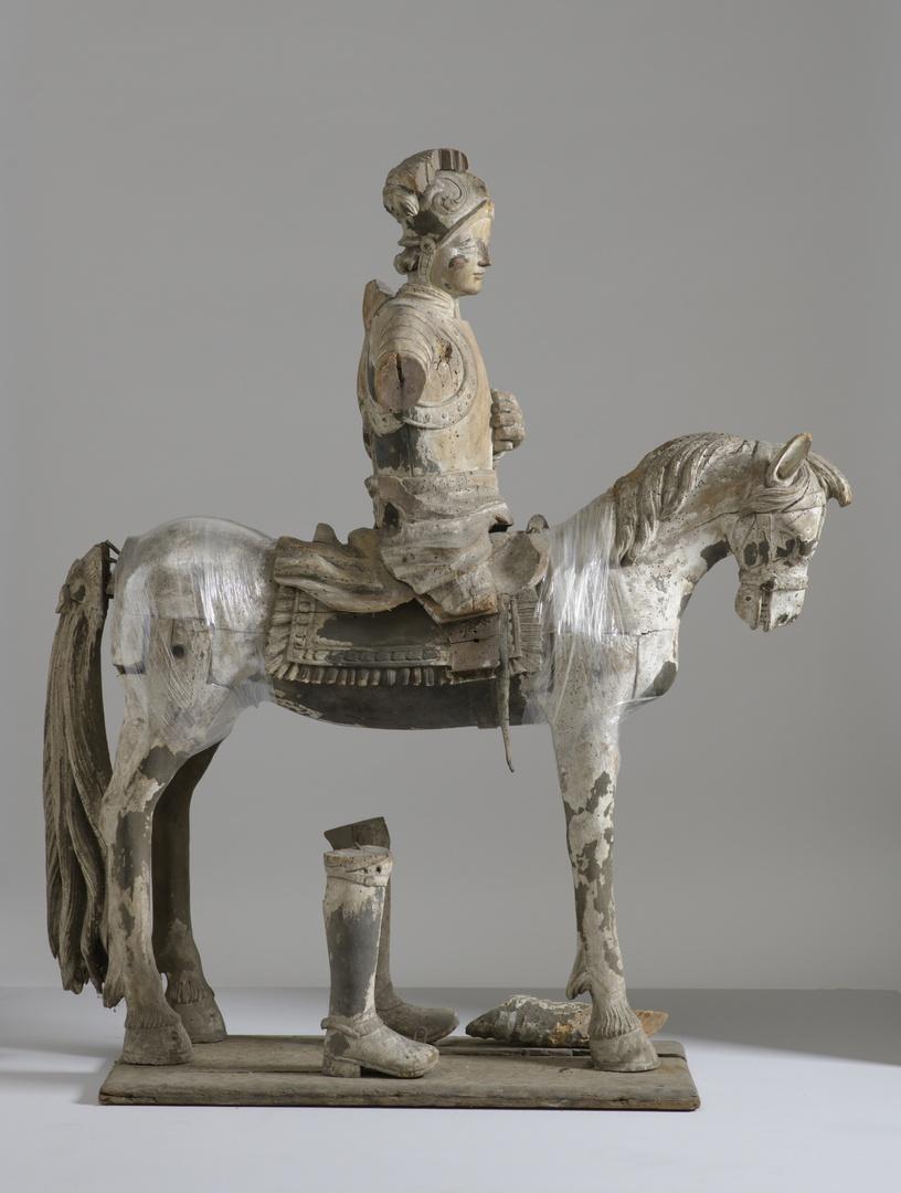H.Martinus te paard