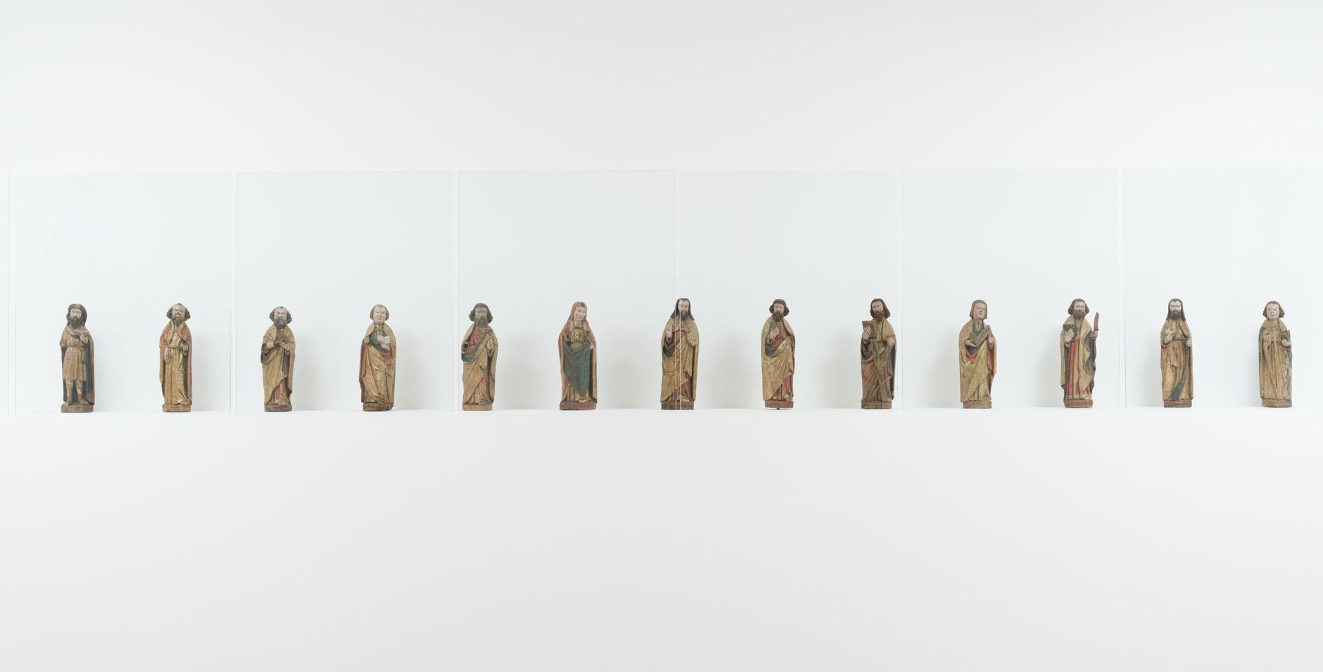 Christus en de twaalf apostelen