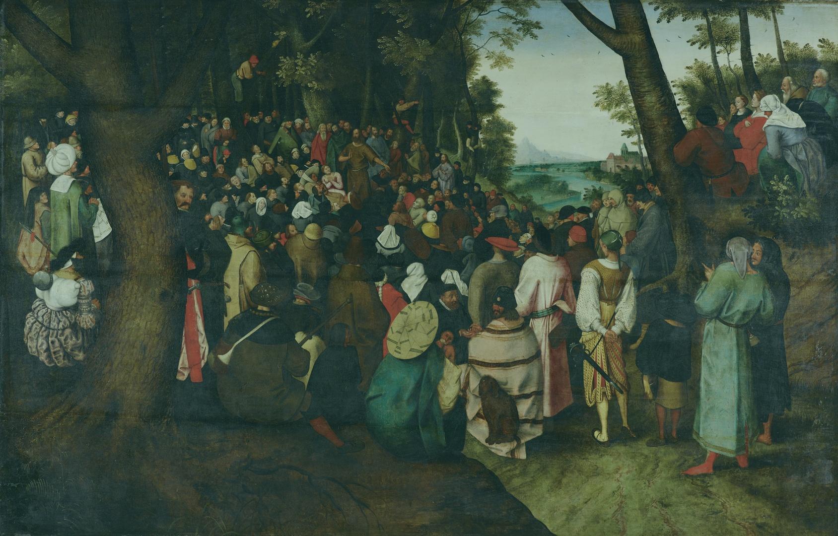 Pieter Brueghel de Jonge, De prediking van Johannes de Doper
