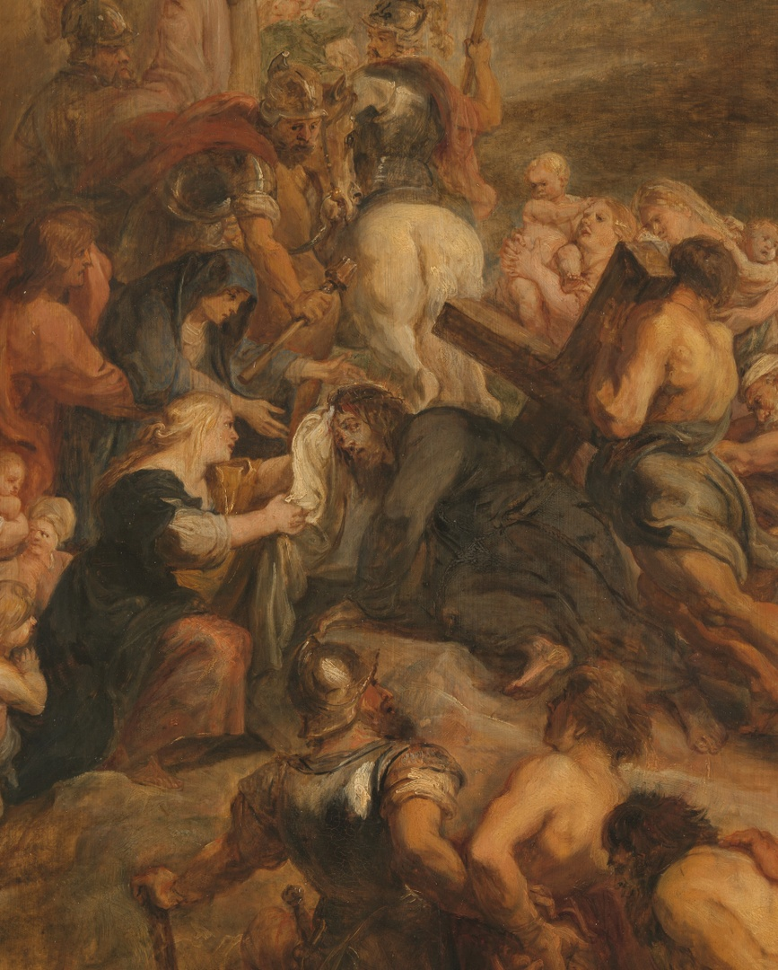 Kruisdraging (detail), Peter Paul Rubens, Bonnefanten